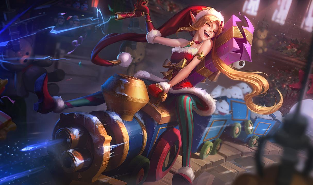Ambitious Elf Jinx (LoL splash)