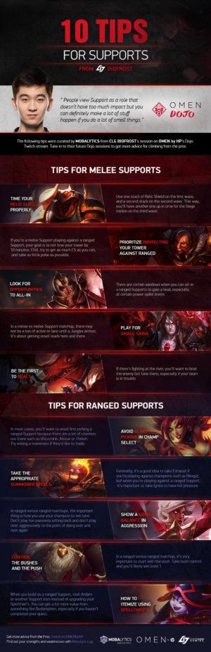 10 Tips for Supports from CLG Biofrost's OMEN Dojo