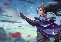 Eternal Sword Master Yi (LoL splash)