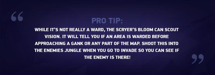 Pro tip Scryer's Bloom