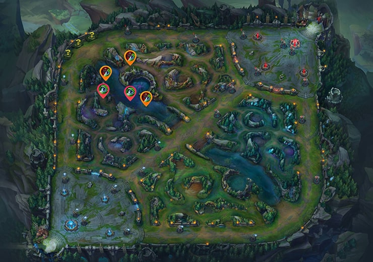 Warding Guide Red Top even