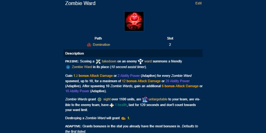 Zombie Ward new