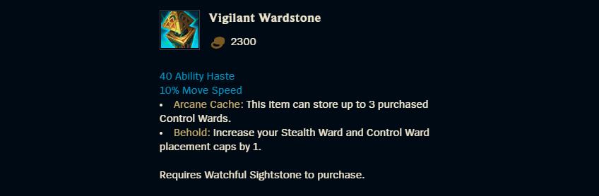 Vigilant Wardstone