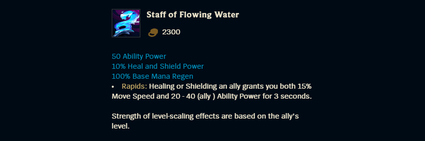 Staff of Flowing Water