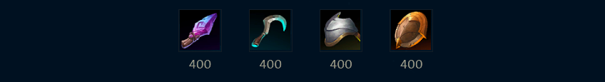 Support Starting Items
