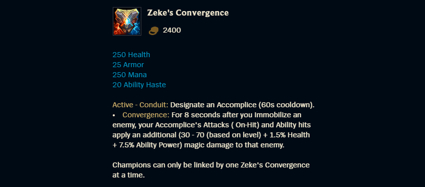 Zekes Convergence