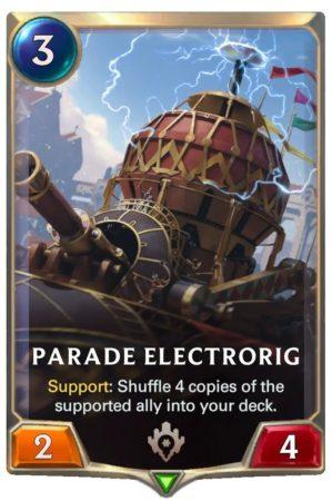 Parade Electrorig (LoR card)