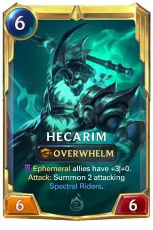 Hecarim level 2 (LoR card)