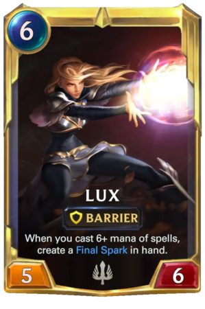Lux Level 2 (LoR card)