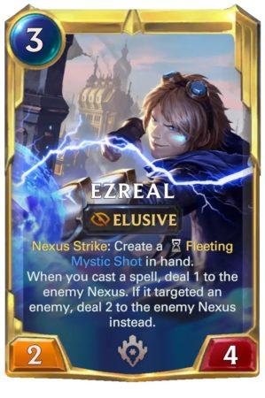Ezreal level 2 (LoR card)
