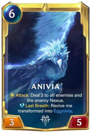 Anivia Level 2 (LoR card)