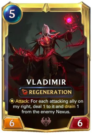 Vladimir level 2 (LoR card)
