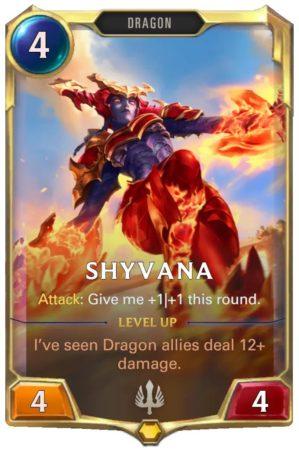 Shyvana Level 1 (LoR card)