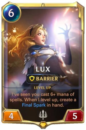 Lux Level 1 (LoR card)