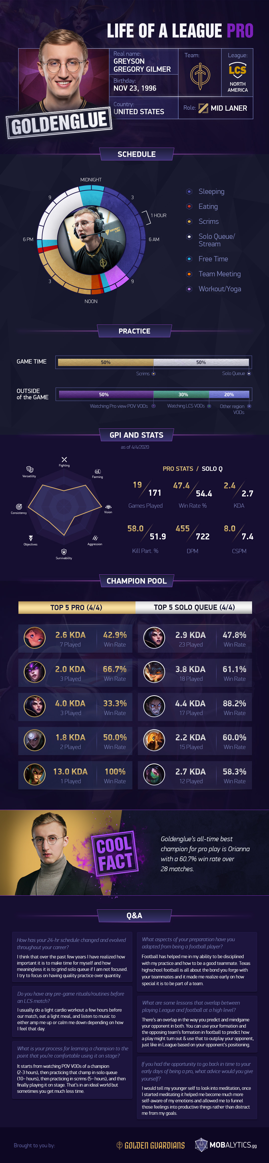 Goldenglue 24 hour infographic