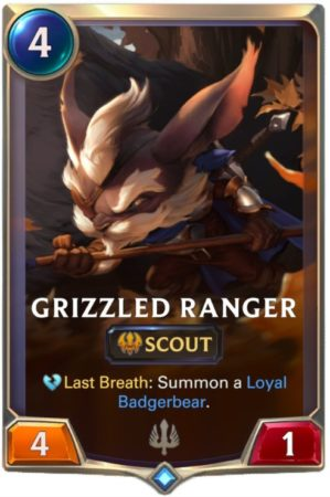 lor grizzled ranger