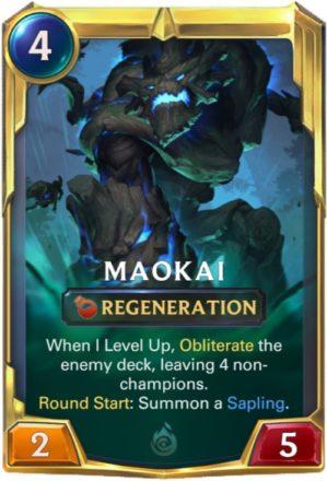 Maokai LoR Level 2 (LoR card)