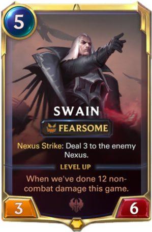 Swain level 1 (LoR card)