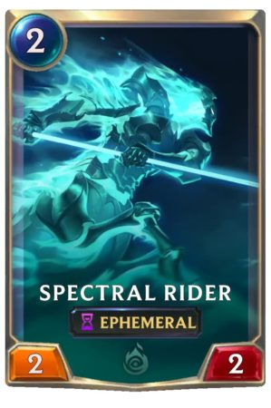 Spectral Rider (LoR card)