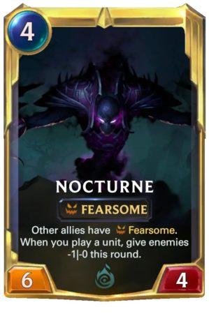 Nocturne Level 2 (LoR card)