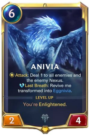 Anivia Level 1 (LoR card)