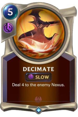 Decimate (LoR card)