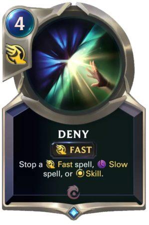 Deny (LoR card)