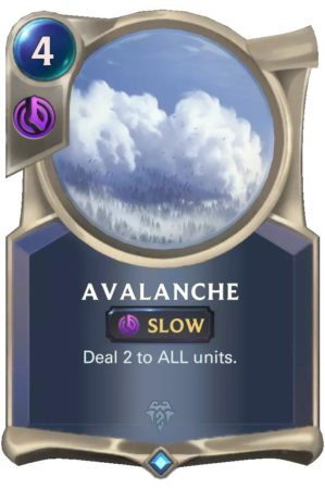 Avalanche (LoR card)