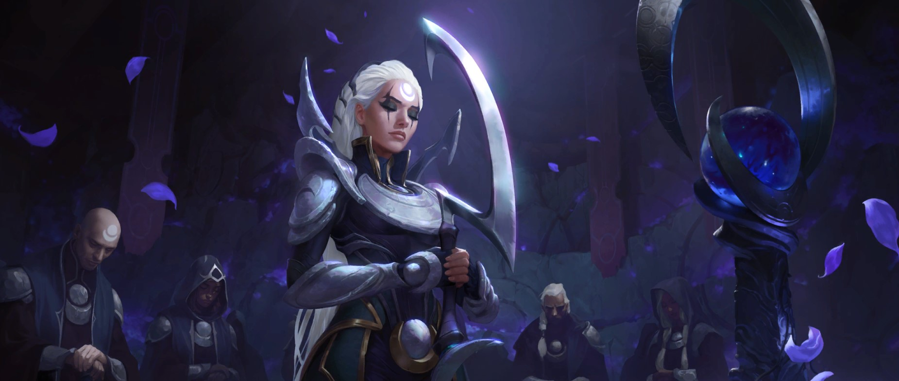 Call of the Mountain LoR Card Reveals: Diana (Pale Cascade, Hush, and More)