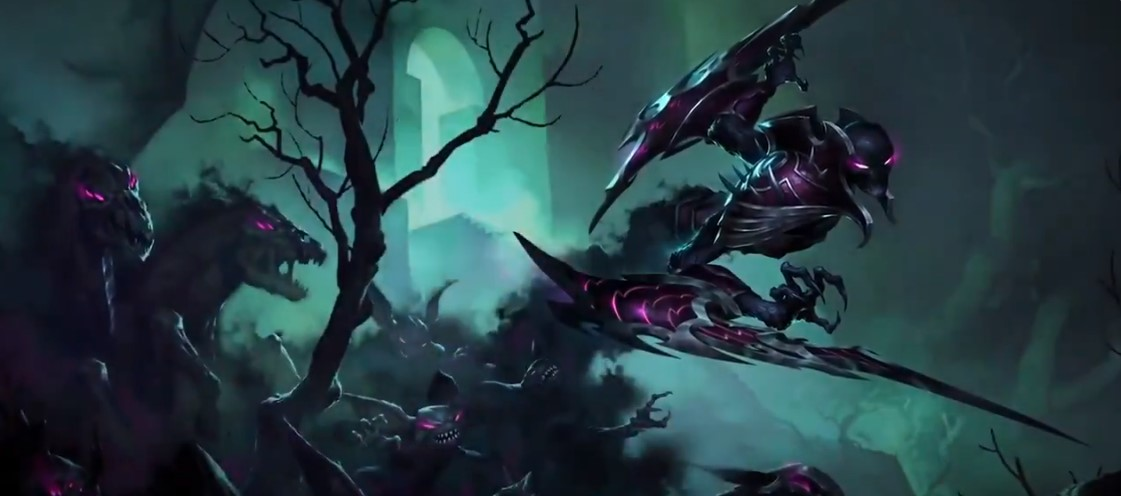 Call of the Mountain LoR Card Reveals: Nocturne (Risen Mists, Stalking Shadows, and More)