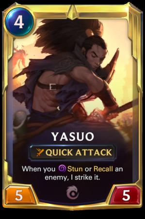Yasup Level 2 (LoR card)