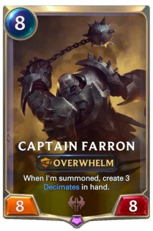 Captain Farron (LoR Card)