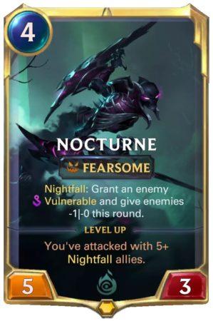 Nocturne Level 1 (LoR card)