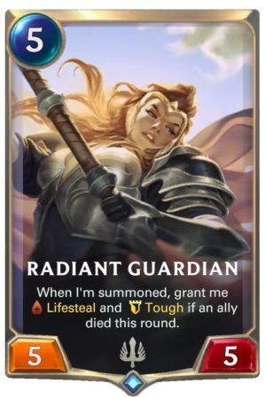 Radiant Guardian (LoR card)