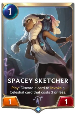 Spacey Sketcher (LoR card)