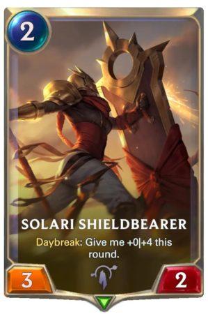 Solari Shieldbearer (LoR card)