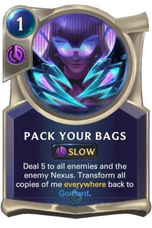 Pack Your Bags (LoR card)