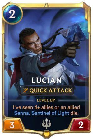 Lucian Level 1 (LoR card)
