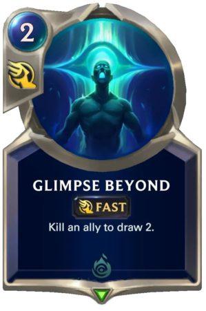 Glimpse Beyond (LoR card)