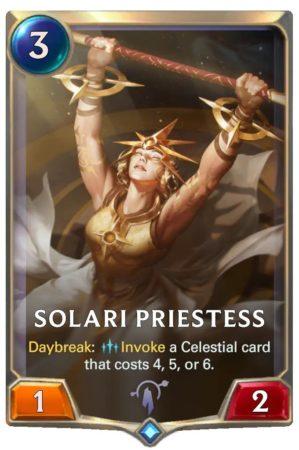 Solari Priestess (LoR card)