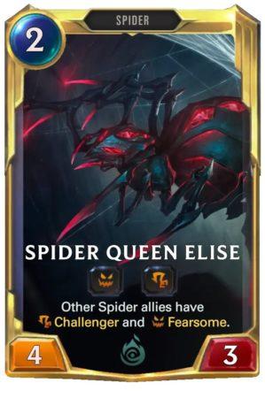 Spider Queen Elise (LoR card)