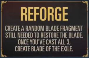 Reforge (LoR keyword reveal)