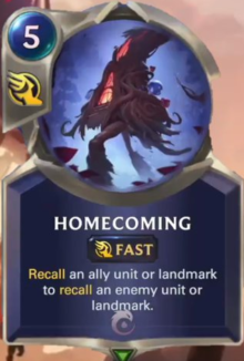 Homecoming (LoR Card Reveal)