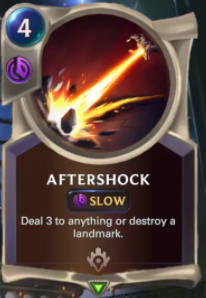 Aftershock (LoR Card Reveal)