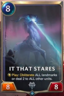 It That Stares (LoR Card Reveal)