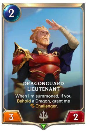 Dragonguard Lieutenant (LoR Card)