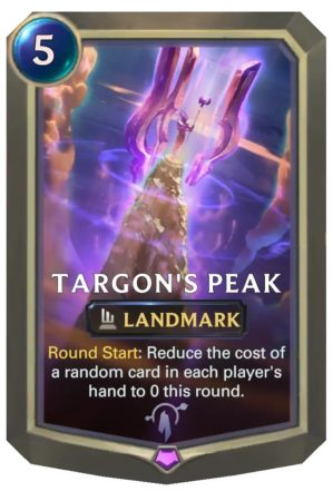 Targon's Peak (LoR Card)