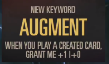 Augment (LoR Reveal)