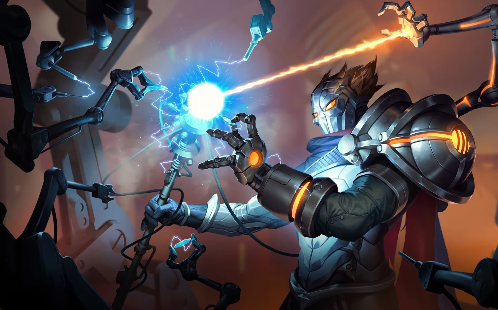 Cosmic Creation LoR Card Impressions: Viktor (Death Ray, Iterative Improvement, and More)