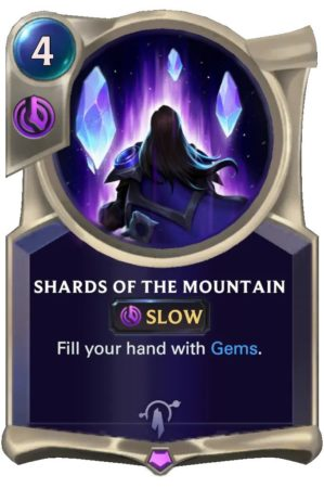 Shards of the Mountain (LoR Card)